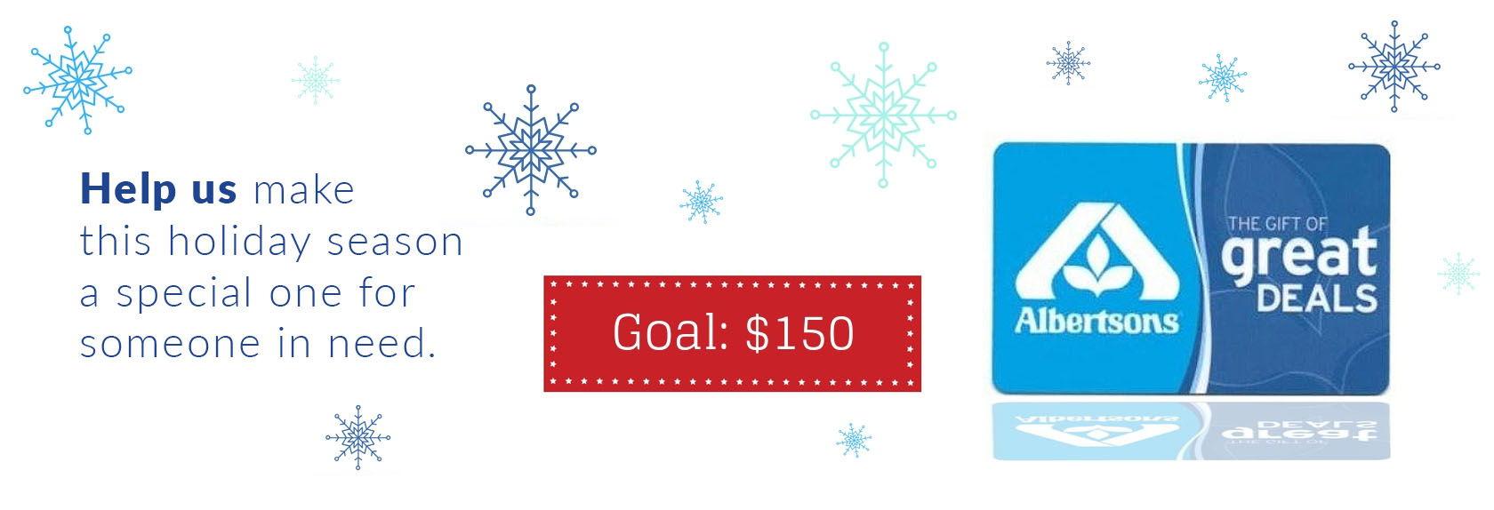 Help us make this holiday season special
